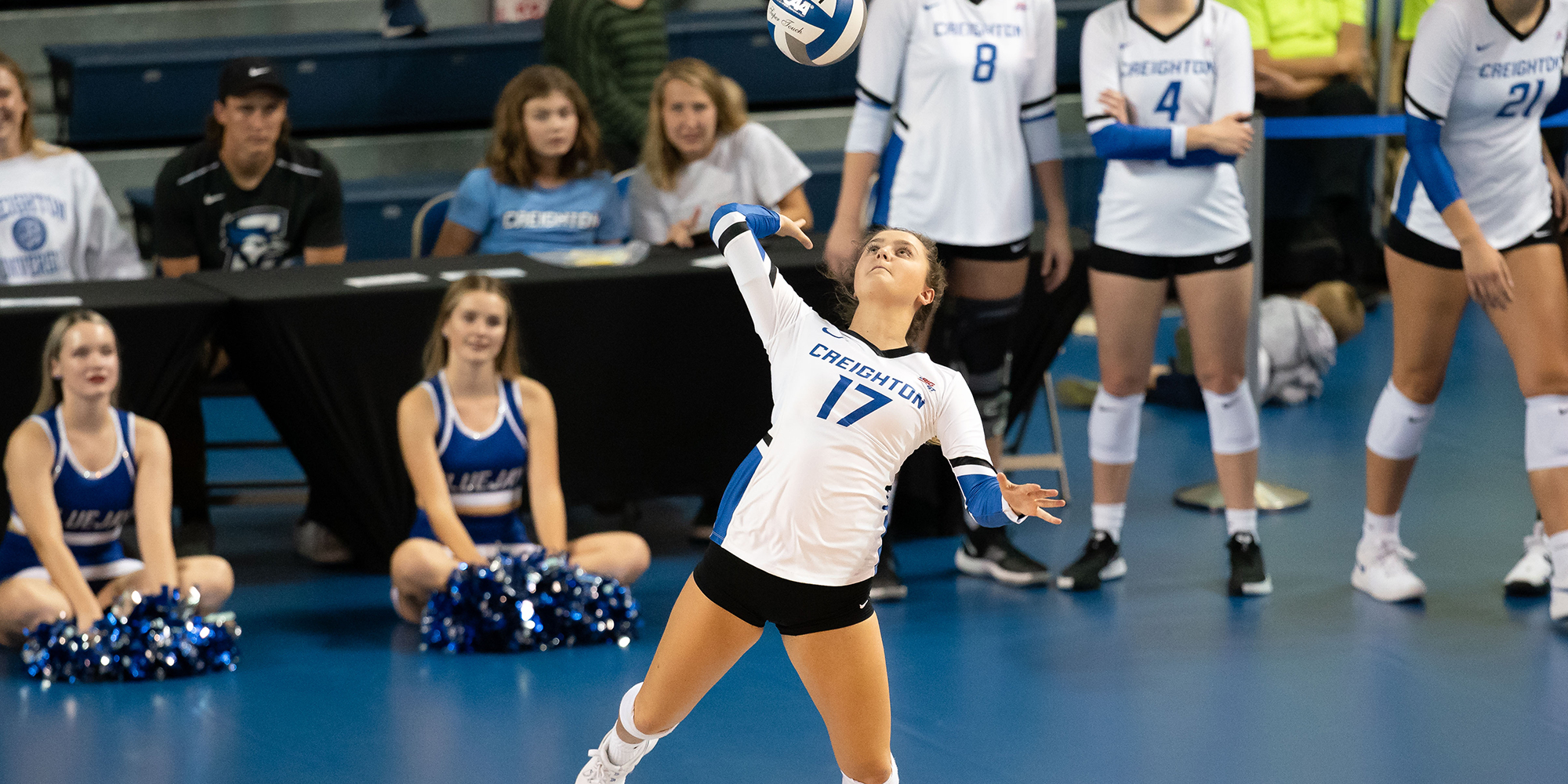 Volleyball Inches Forward In Latest Rankings Creighton University Athletics