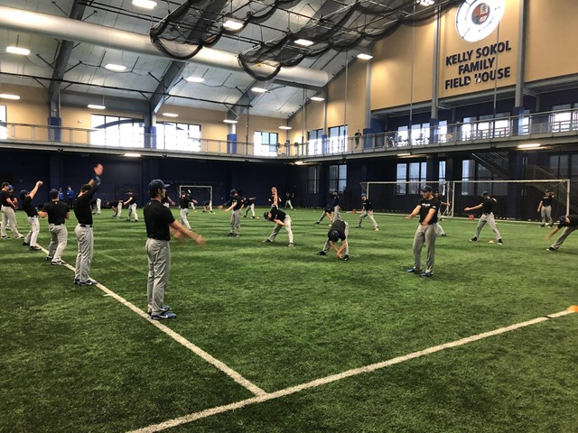 Baseball Officially Opens 2020 Practice